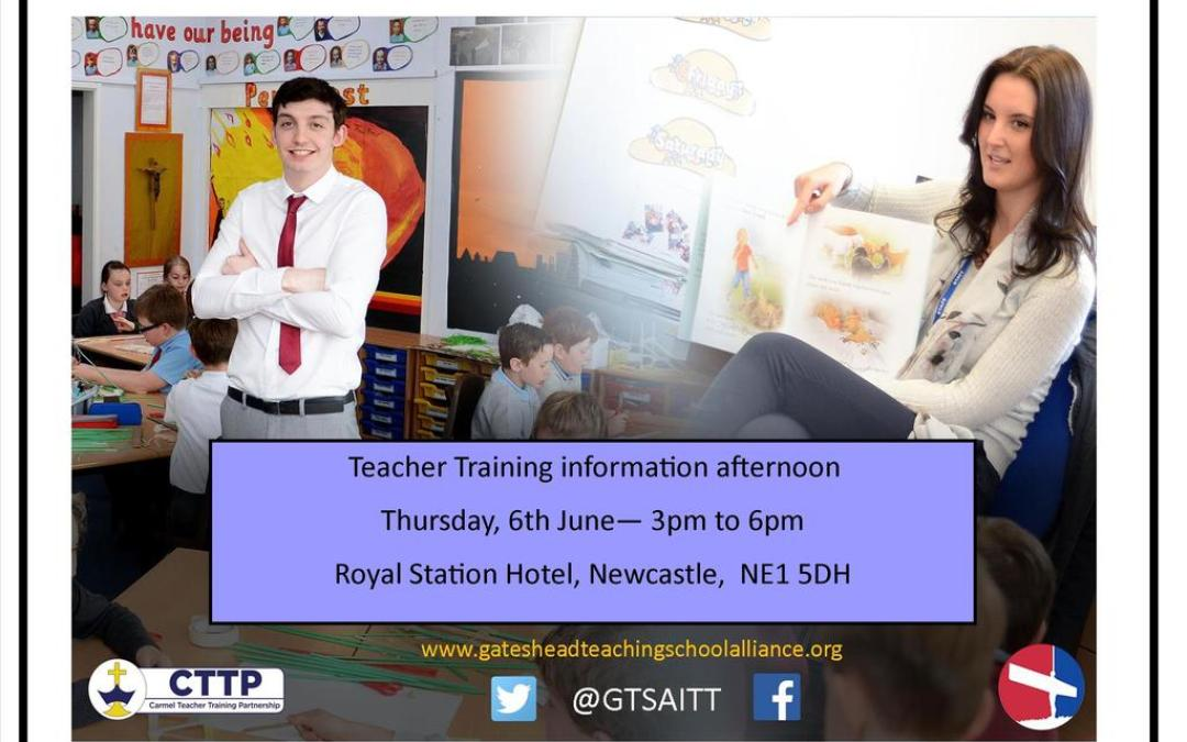 Interested in a career in teaching?
