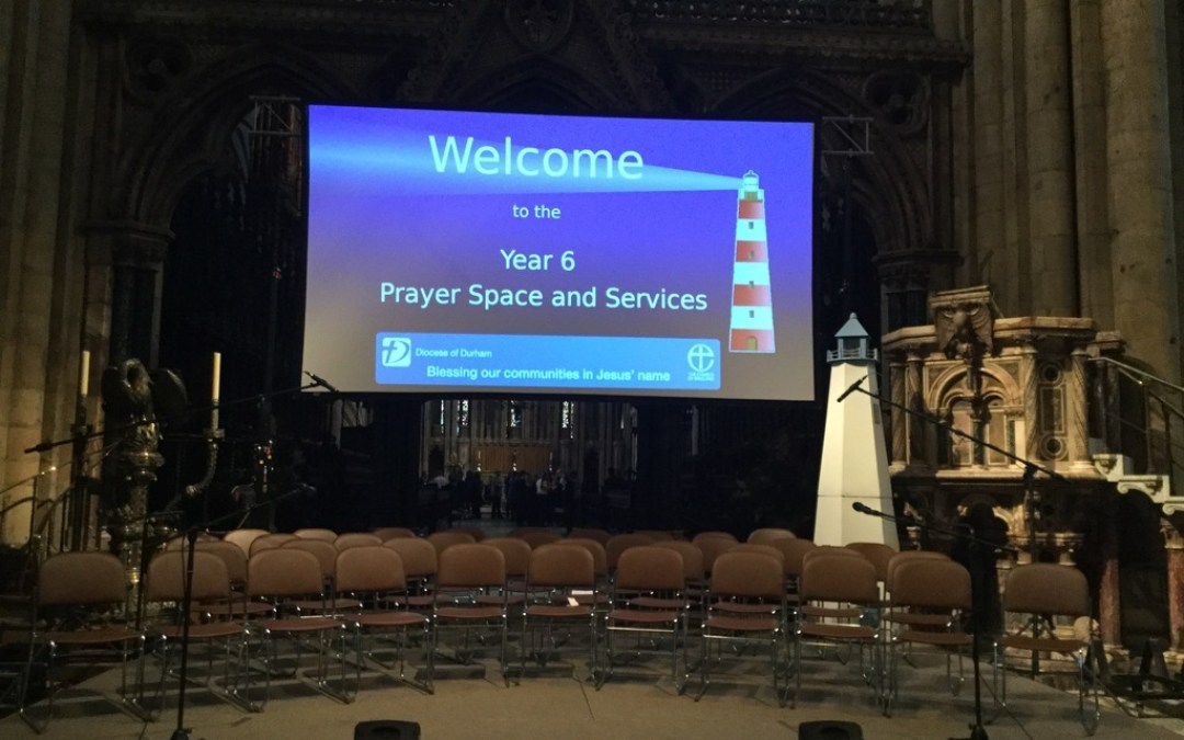 Diocese of Durham Year 6 Leavers' and Prayer Space service at Durham Cathedral