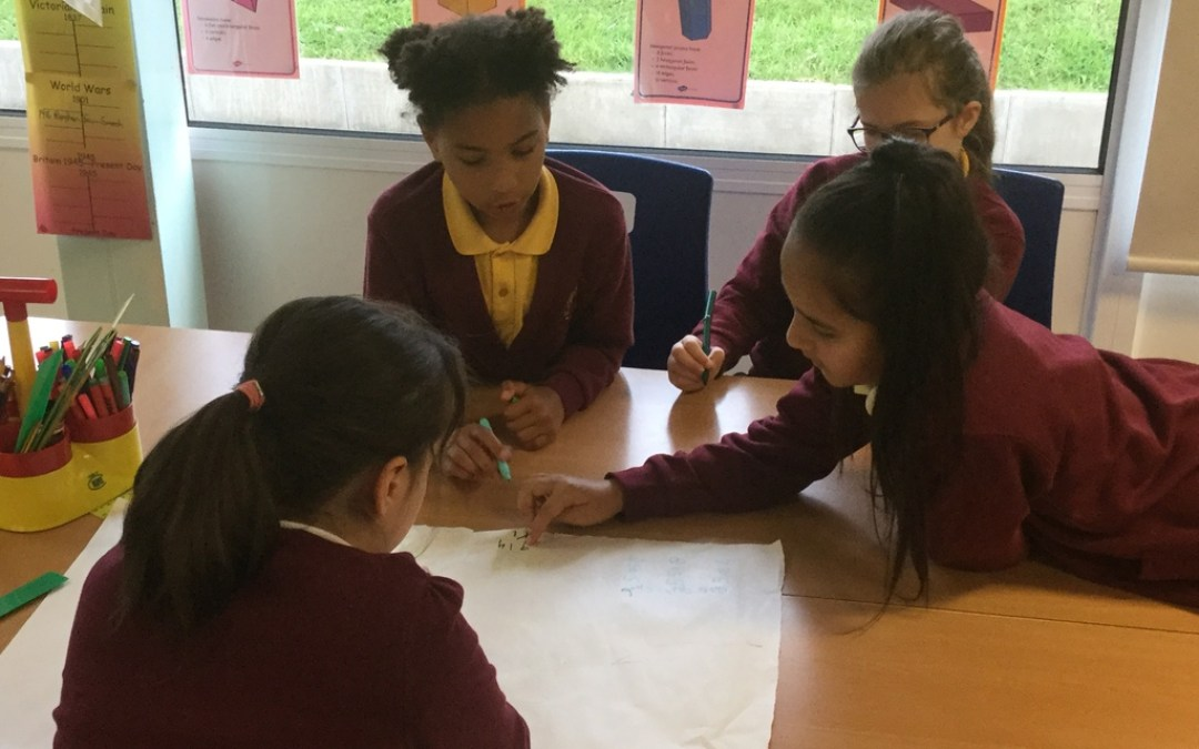 Year 4 group work