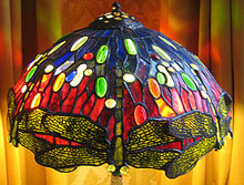 Tiffany Dragon Fly in stained glass