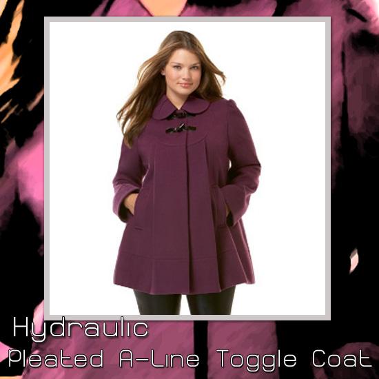 Hydraulic Pleated Toggle Coat
