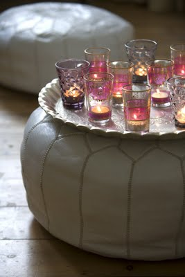 moroccan-pouf-and-glass-via-once-daily-chic