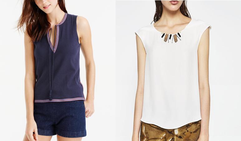 sleeveless tops for summer details