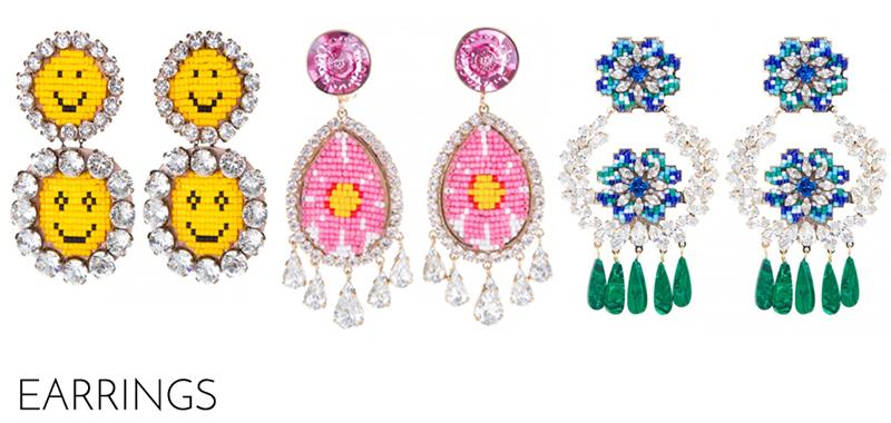 shourouk jewelry earrings