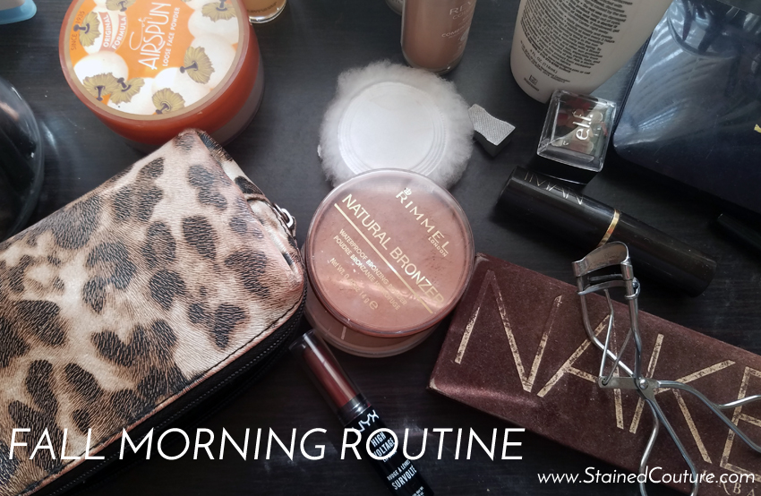 fall morning routine