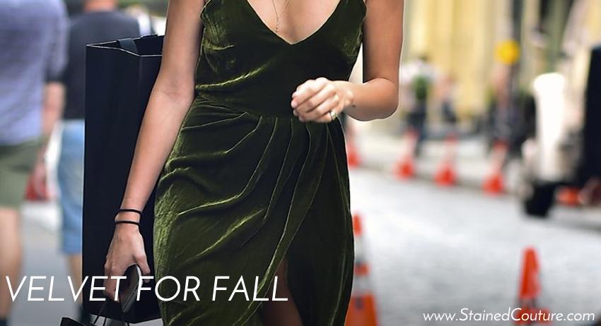 velvet for fall
