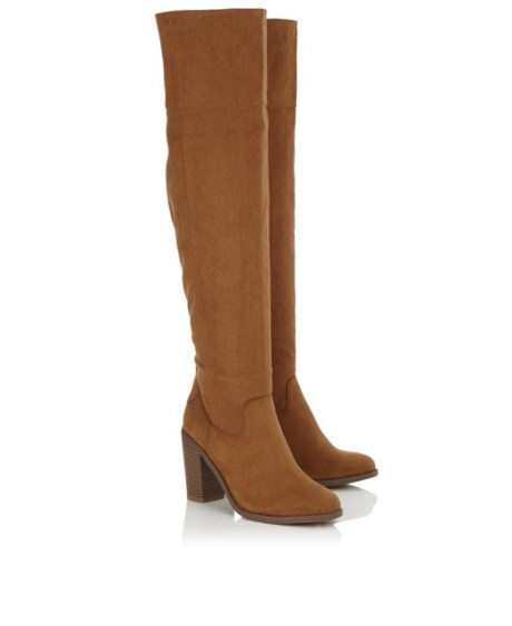 fall statement shoes over the knee boots