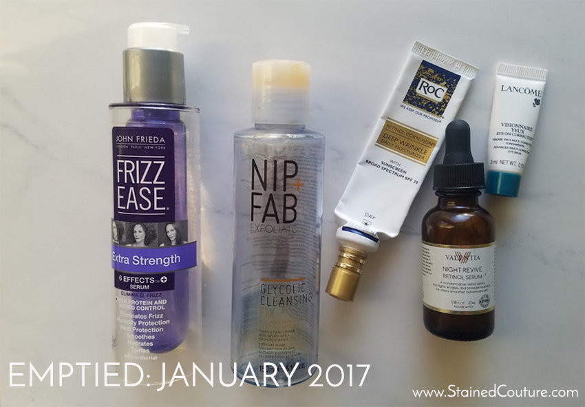 emptied january 2017