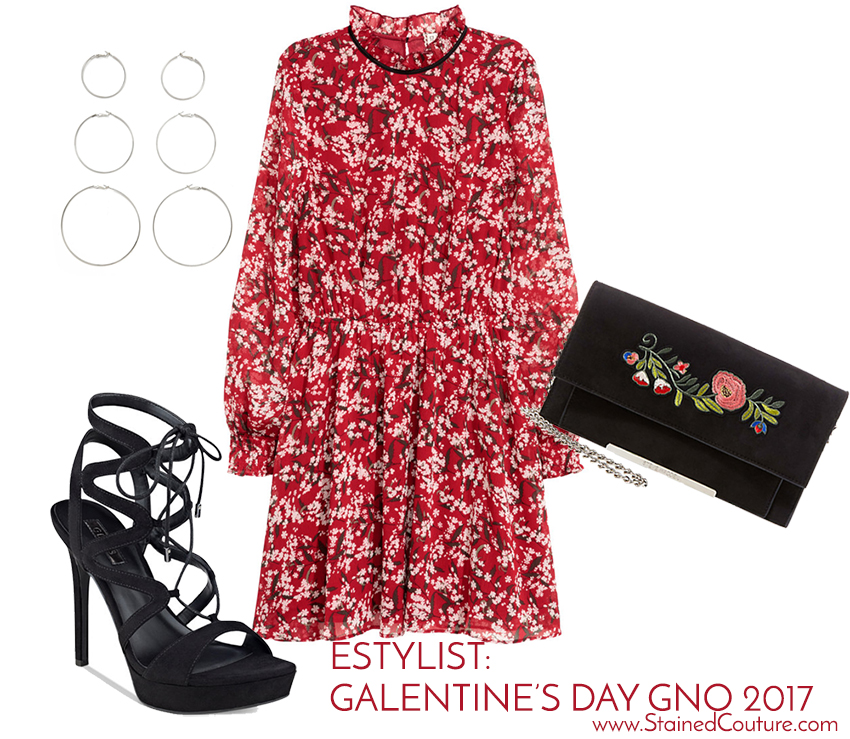 estylist galentine's day outfit 2017