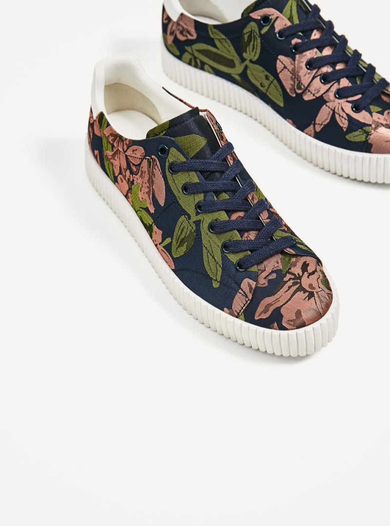 shoes from zara printed primsolls