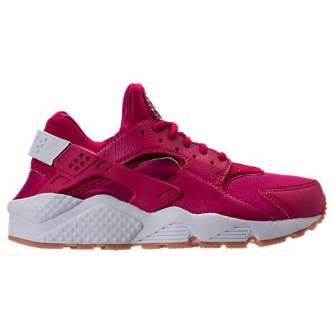 pink sneaker nike huarache fuschia