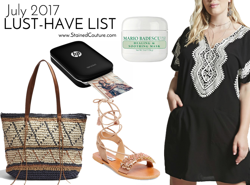 Lust-Have List July 2017