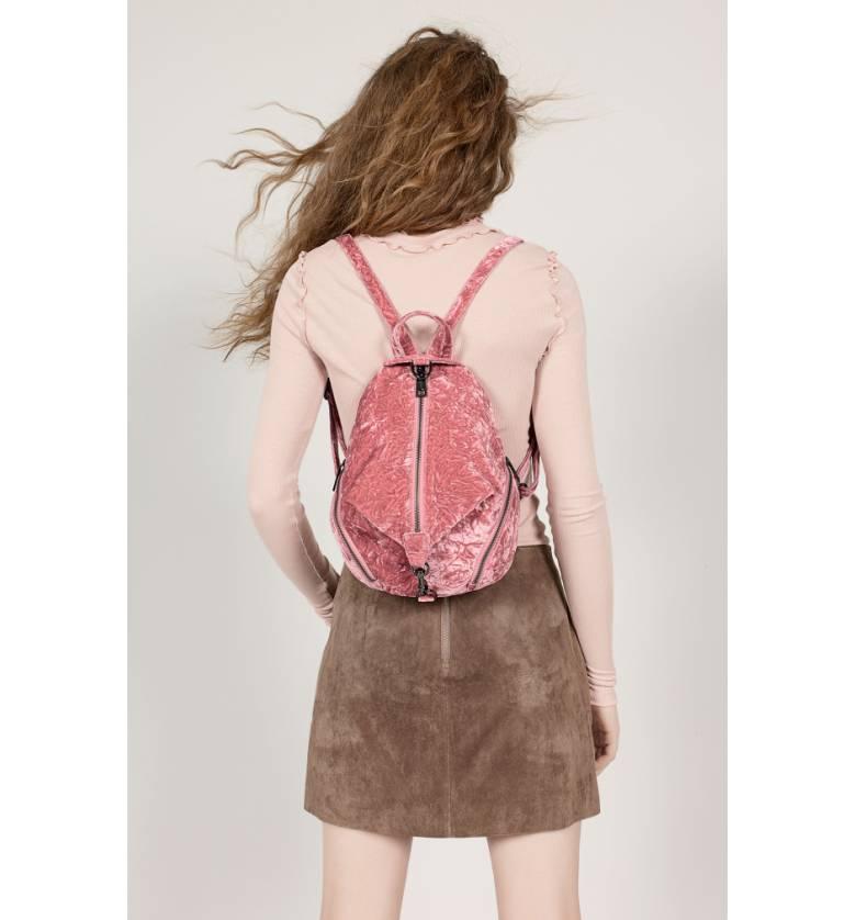 Nordstrom Anniversary Sale pink velevet backpack