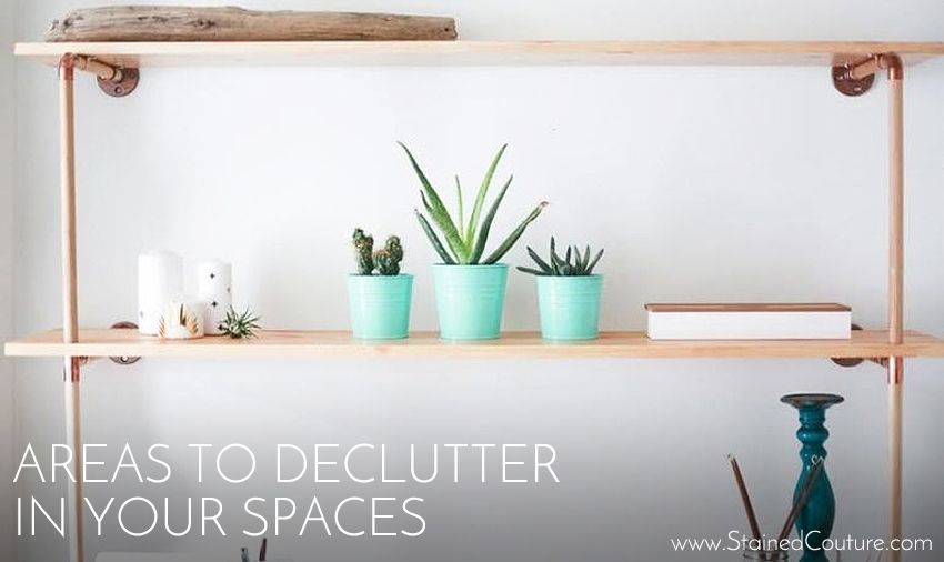 areas to declutter