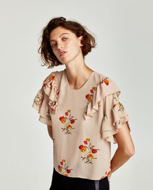 Frilled Statement Sleeves