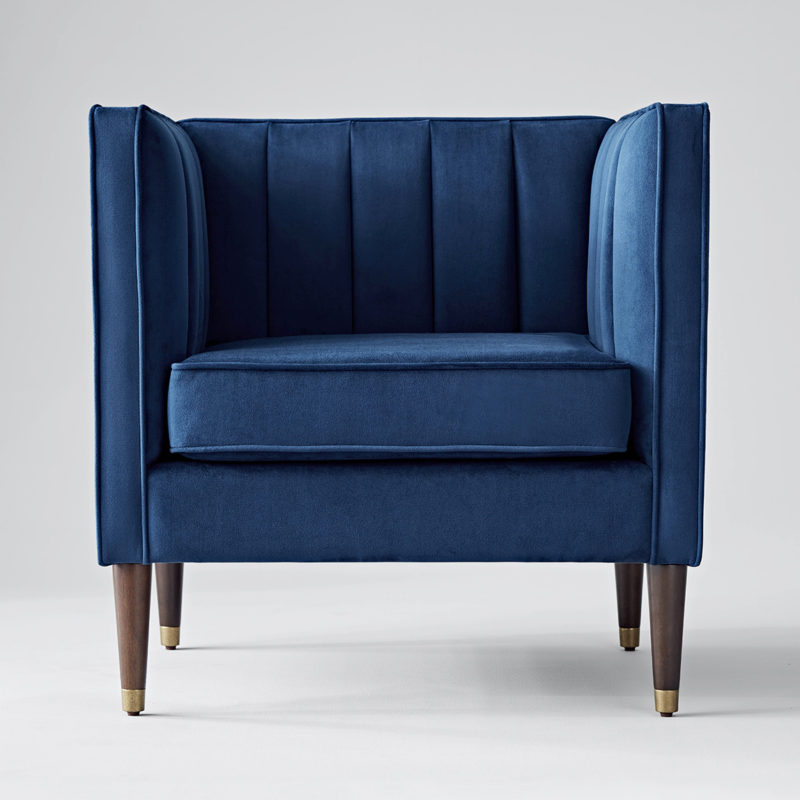 Project 62 Blue Chair
