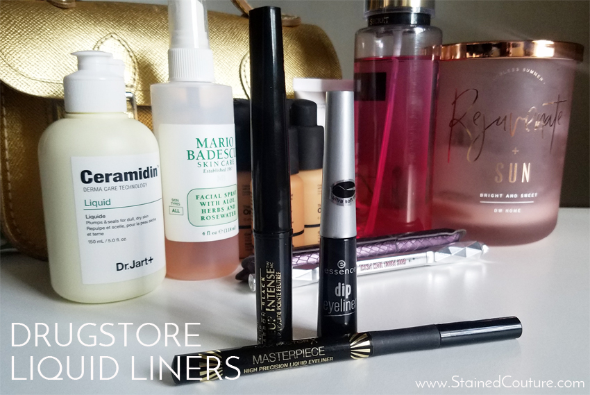 drugstore liquid eyeliners