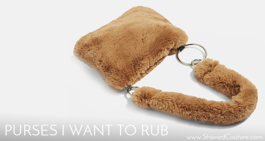 Furry purses I want to rub this fall