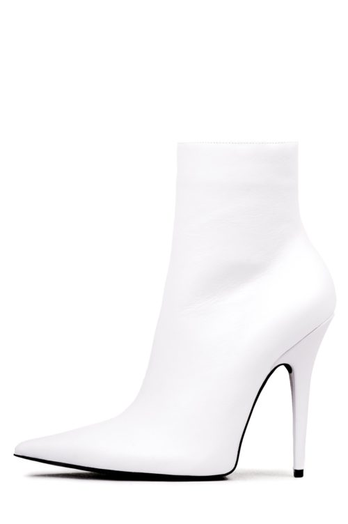 Jeffrey campbell Vedette white ankle boot