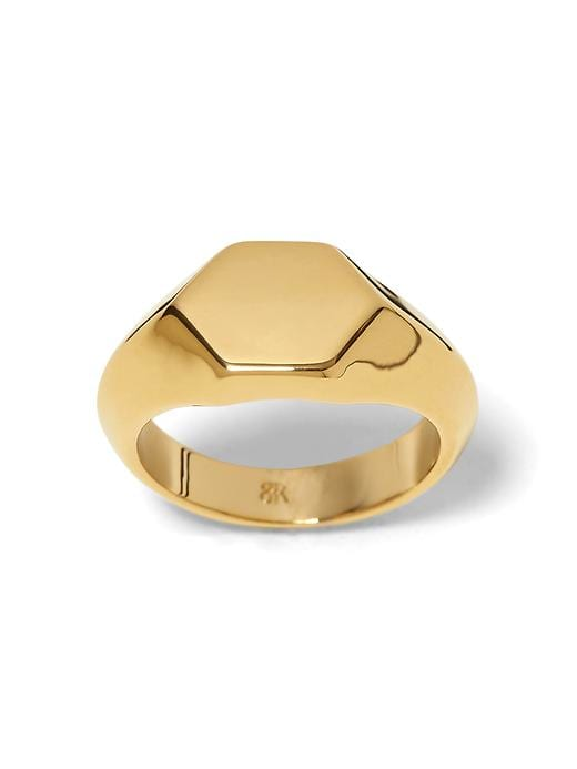 Banana Republic Classic Signet Ring