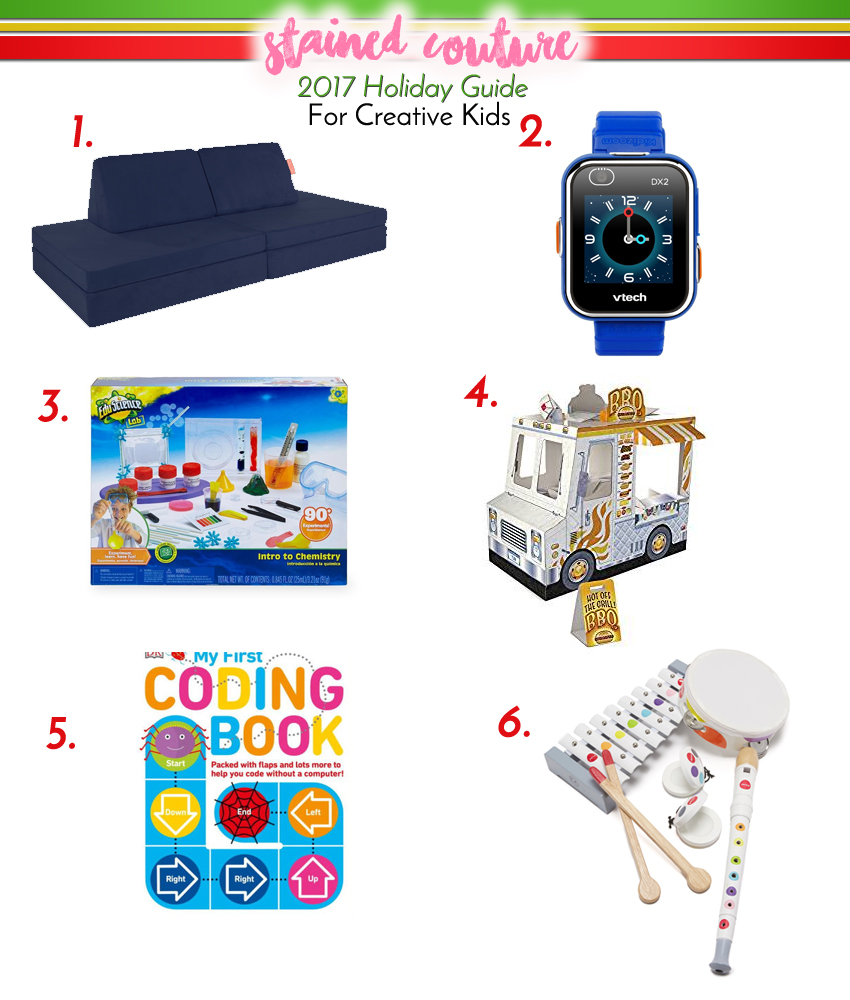 Holiday Gift Guide for Creative Kids