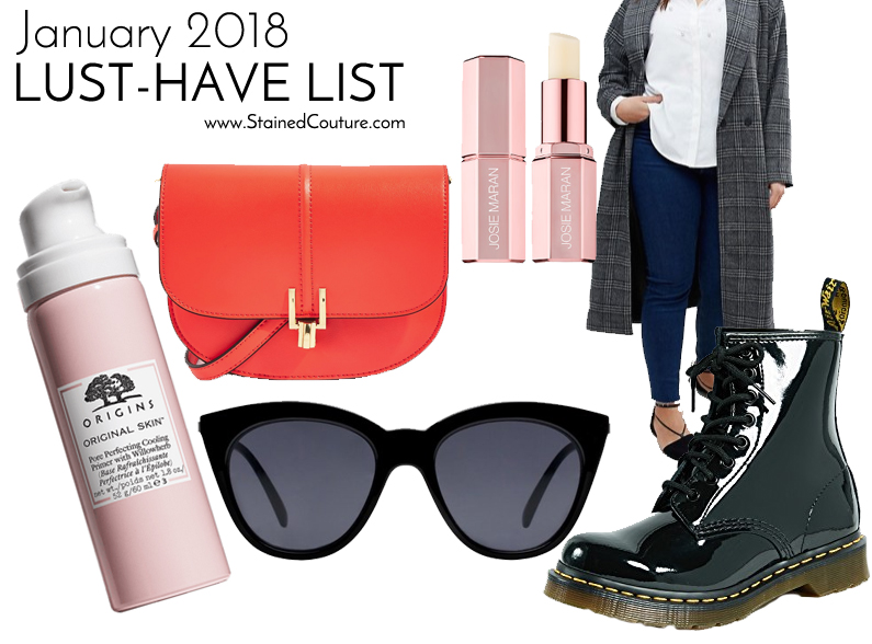 Lust-have List January 2018