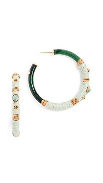 GAS Bijoux Cab Comporta Hoop Earrings