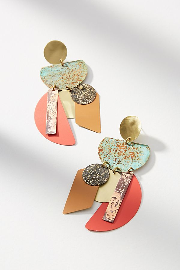 Good Fortune Chandelier Drop Earrings