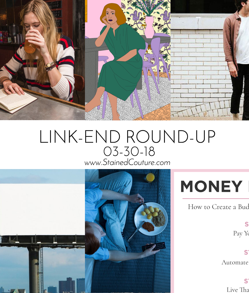 LINK-END ROUND-UP March 30, 2018