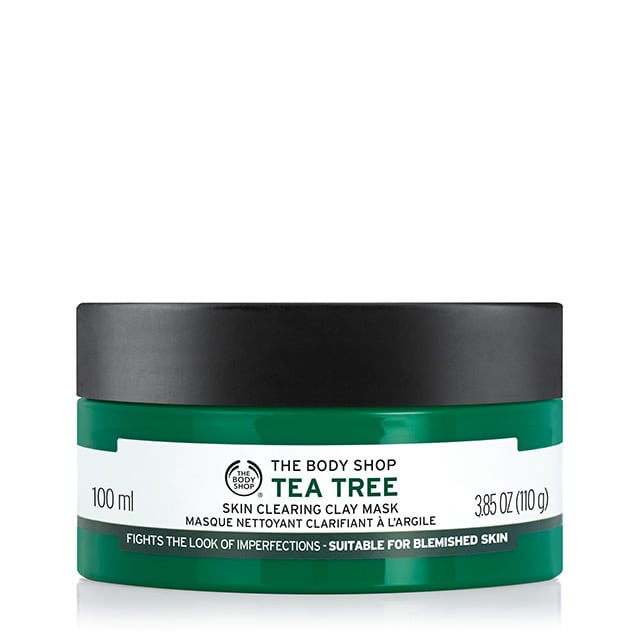THE BODT SHOP tea tree clay mask