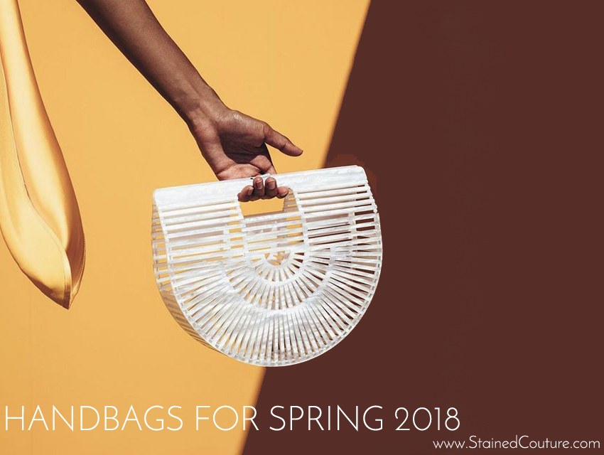 Hnadbags for Spring 2018 / STAINED COUTURE