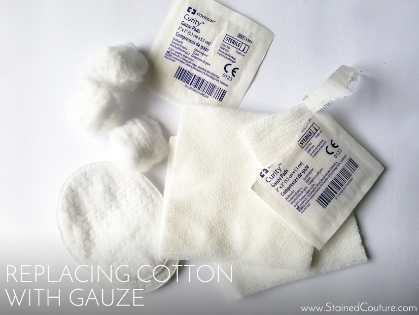 Using Gauze in Skincare Routine