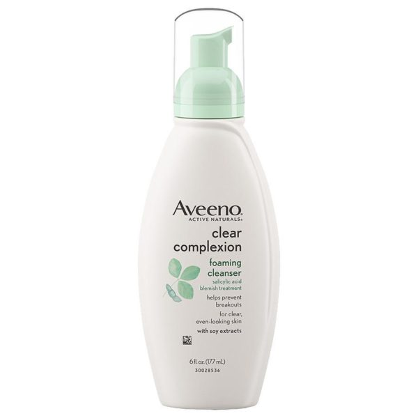 MULTIPLE FACE WASHES | Aveeno Clear Complexion Foaming Cleanser