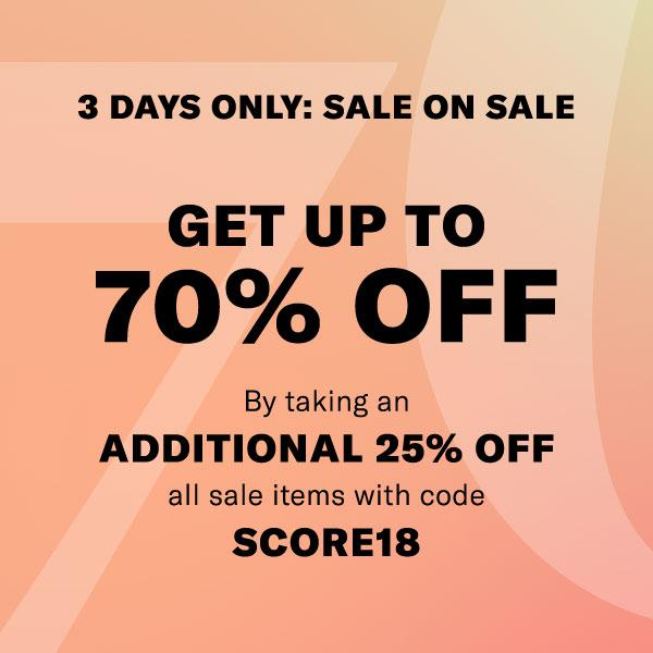 RETAIL THERAPY | Shopbop 3 Day Sale 2018