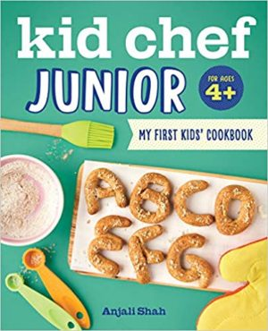 BOOKS FOR EVERYONE: Kid Chef Junior Cookbook | STAINED COUTURE
