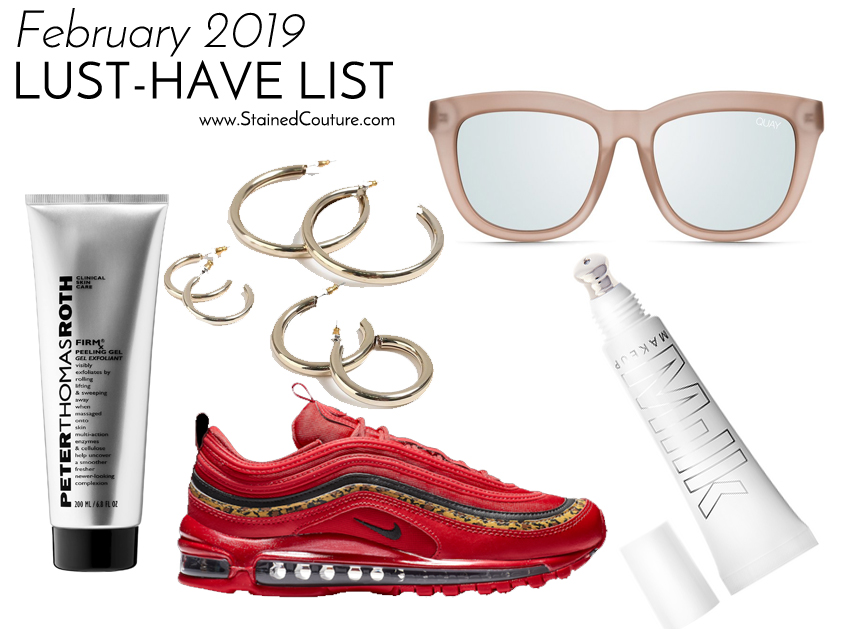 LUST-HAVE LIST: February 2019