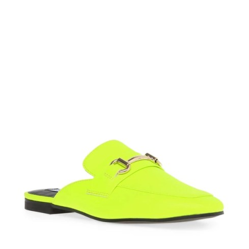 Shoes I Need for Fall 2019 | Neon Backless Loafers