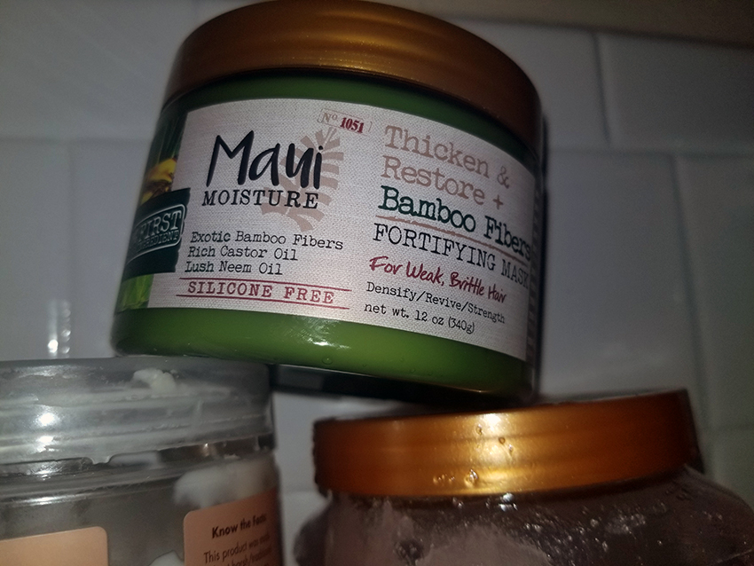 ITEM OF THE WEEK: Maui Moisture Fortifying Hair Mask | STAINED COUTURE