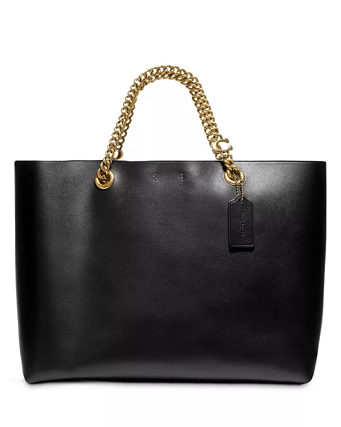 NEW WORK BAGS: Coach Chain Central Tote | STAINED COUTURE