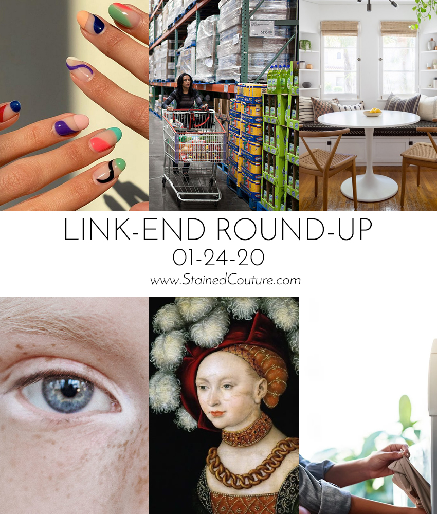 LINK-END ROUND_UP: January 24, 2020 | STAINED COUTURE