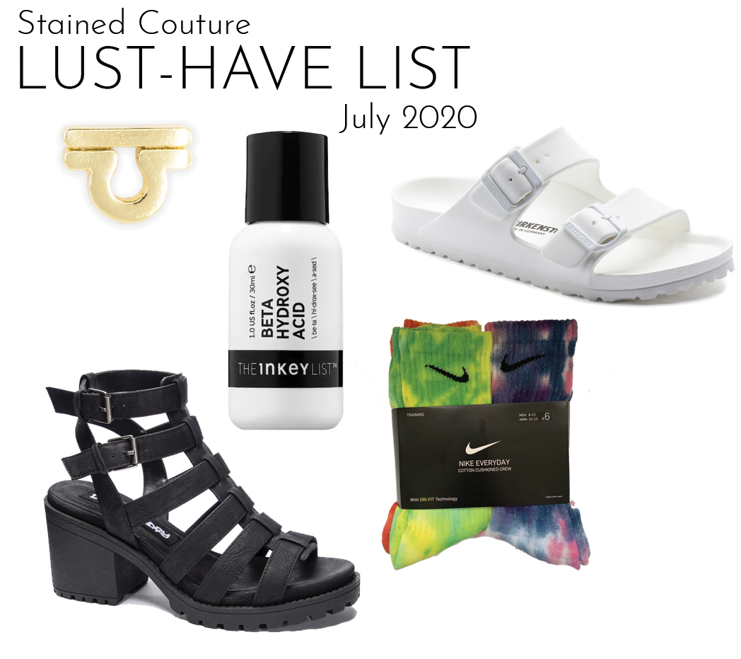 LUST-HAVE LIST: July 2020 | STAINED COUTURE