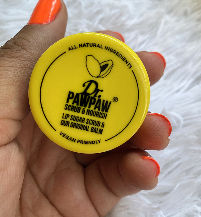 ITEM OF THE WEEK: Dr PAWPAW Lip Sugar Scrub and Lip Balm | STAINED COUTURE