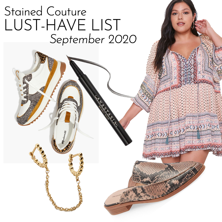 LUST-HAVE LIST: September 2020 | STAINED COUTURE