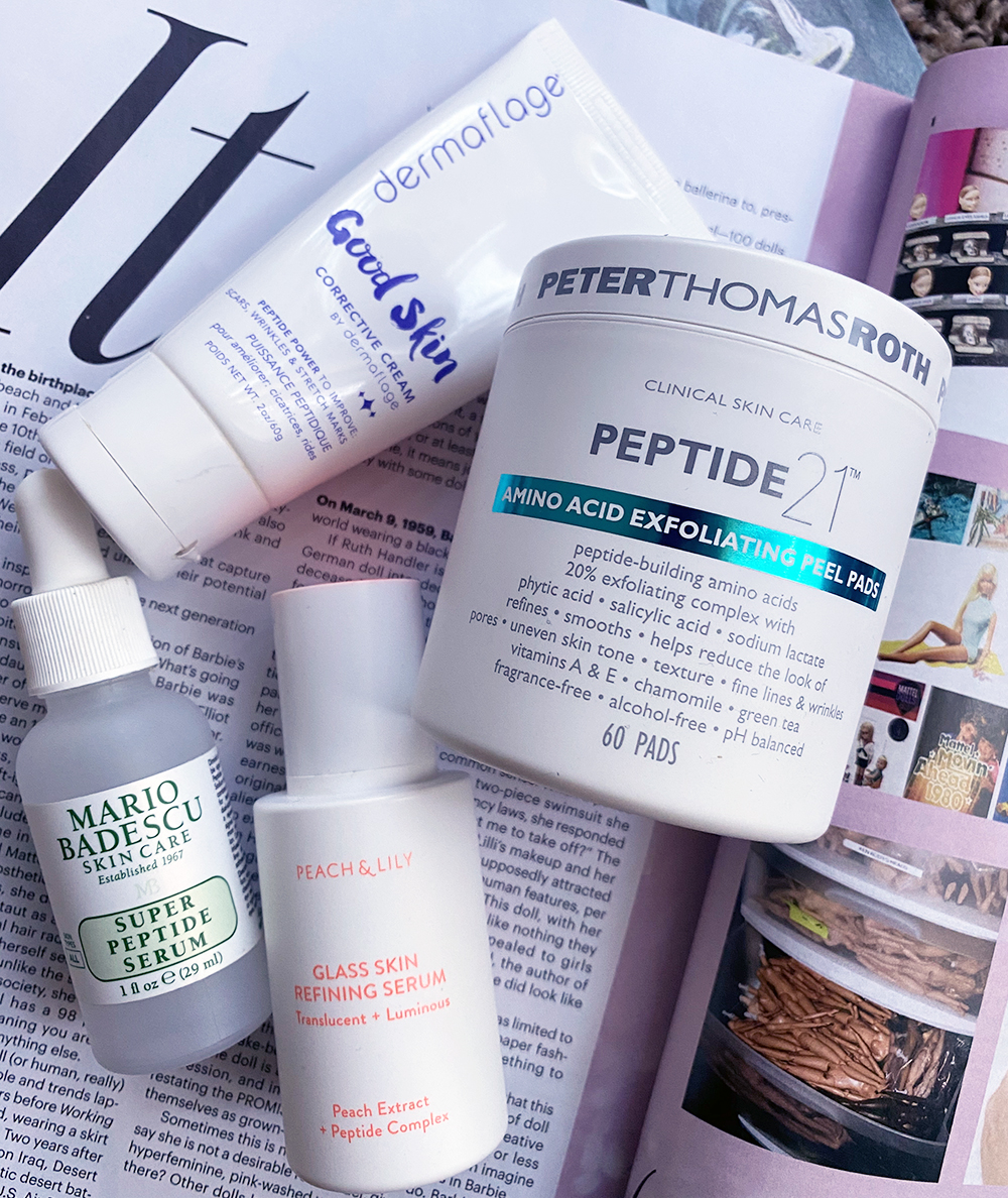 Benefits of Peptides in Skincare | STAINED COUTURE