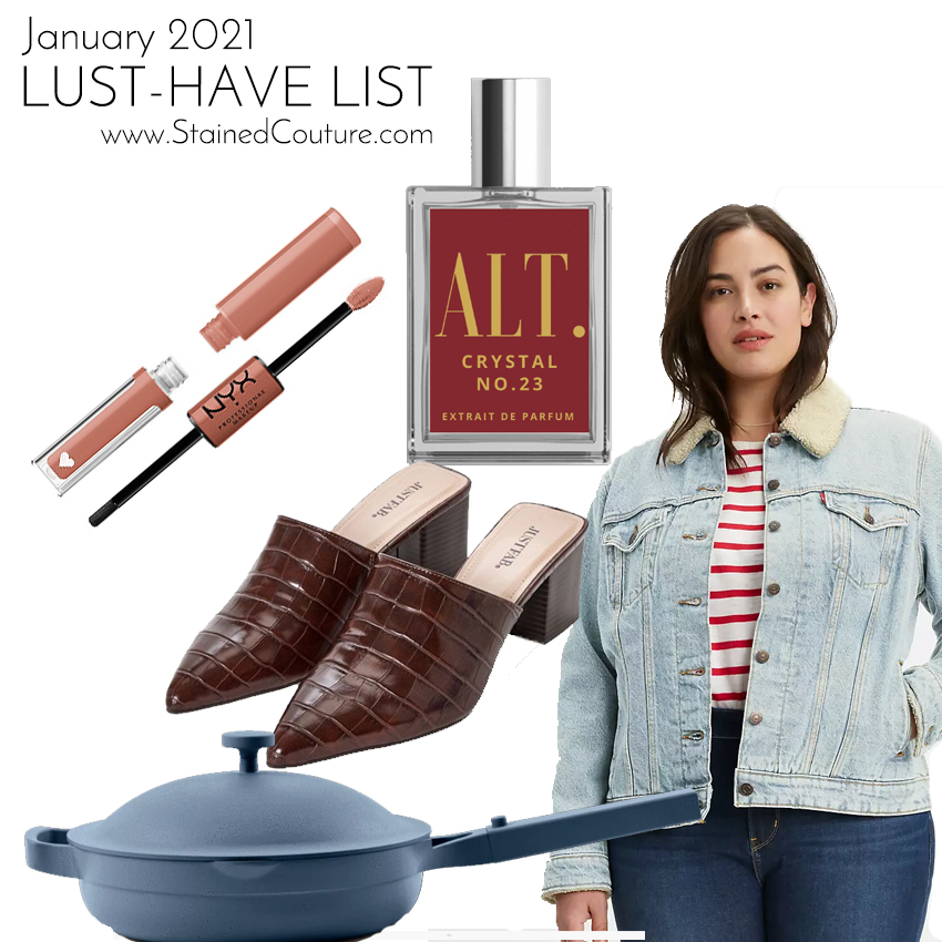 LUST-HAVE LIST: January 2021 | STAINED COUTURE