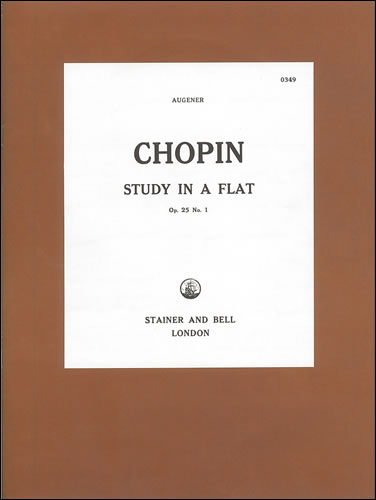 Chopin, Frédéric François: Etude In A Flat, Op. 25, No. 1