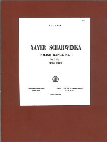Scharwenka, Xaver: Polish Dance In E Flat Minor, Op. 3, No. 1