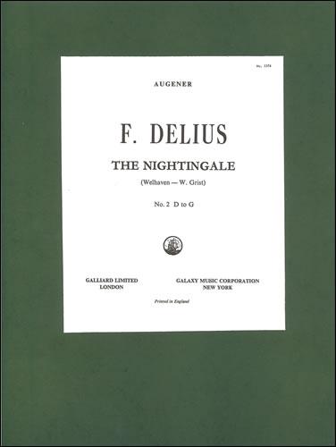 Delius, Frederick: The Nightingale ('Sing! Sing!'). G Major