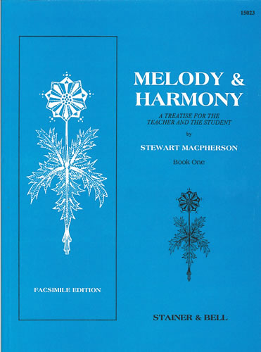 Macpherson, Stewart: Melody And Harmony Book 1