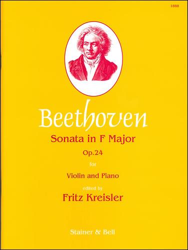Beethoven, Ludwig Van: Sonata In F, Op. 24 ('Spring') Violin & Piano